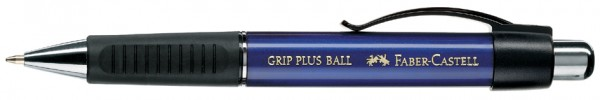 FABER-CASTELL Druckkugelschreiber GRIP PLUS, blau