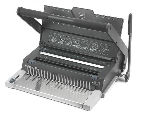 GBC Draht- und Plastik- Bindegerät Multibind 420 (ibiMaster 500)