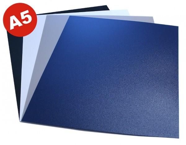 DIN A5 Einbanddeckel aus Polypropylen, 0.5 mm - weiß