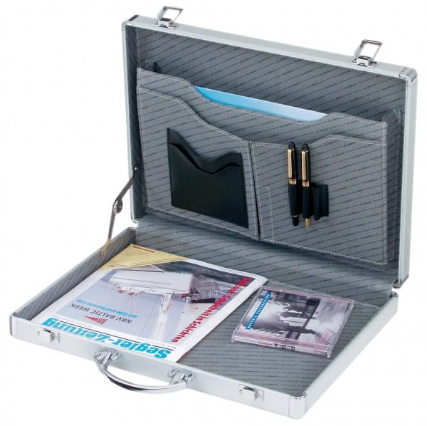 ALUMAXX Attaché-koffer ´MINOR´, Aluminum, silber