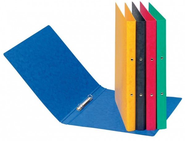 PAGNA Ringbuch, aus Pressspann, 2 Ring-Mechanik, gelb