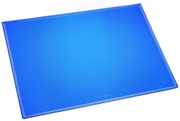 Läufer Schreibunterlage DURELLA TRANSLUZENT NEON, blau