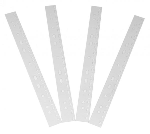 Abheftstreifen transparent - US-Teilung / 21 Löcher