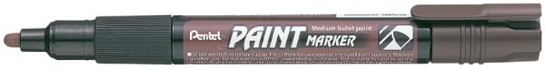Pentel Permanent-Marker PAINT MARKER MMP20, braun