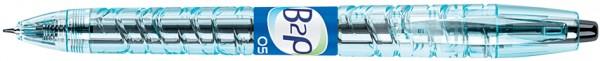 PILOT Gelschreiber B2P, schwarz, Strichstärke: 0,3 mm