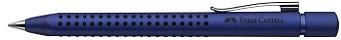 FABER-CASTELL Druckkugelschreiber GRIP 2011, blau-metallic