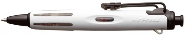 TOMBOW Druckkugelschreiber ´AirPress Pen´, weiß/schwarz