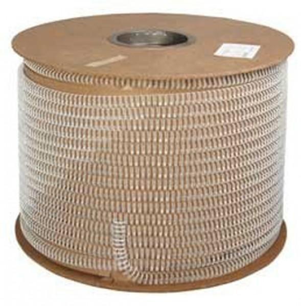 Bindedraht auf Spule (3:1), 42.000 Loops, 9,5 mm, weiß-1