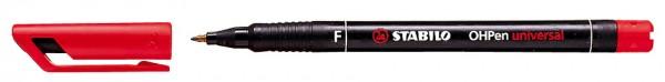 STABILO Folienstift OHPen universal, permanent, rot