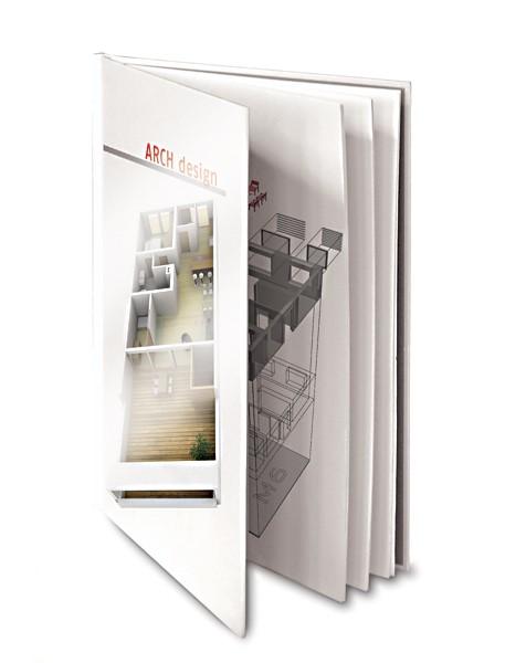 PouchCOVER Einbanddeckel A4+ (304 mm) - weiß