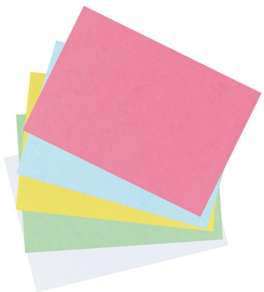 herlitz Karteikarten, DIN A6, liniert, gelb