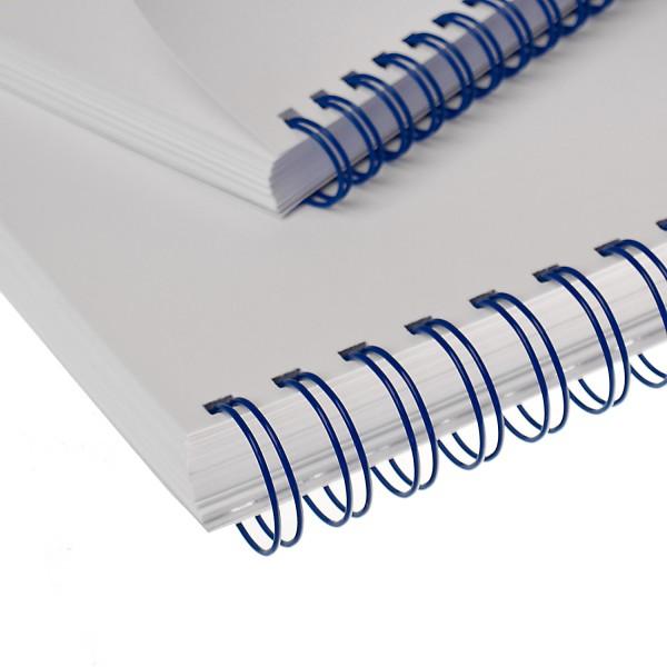 RENZ Drahtbinderücken, Teilung 3:1, 5.5 mm - blau