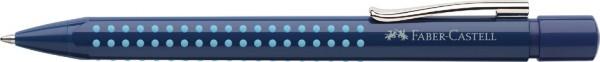 FABER-CASTELL Druckkugelschreiber GRIP 2010, blau-hellblau