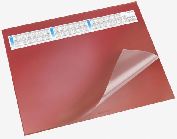 Läufer Schreibunterlage DURELLA DS, 400 x 530 mm, rot