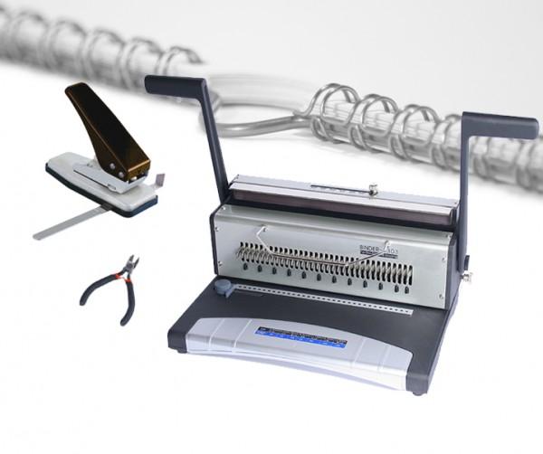 Wire Binder S303 - Kalenderset - weiß
