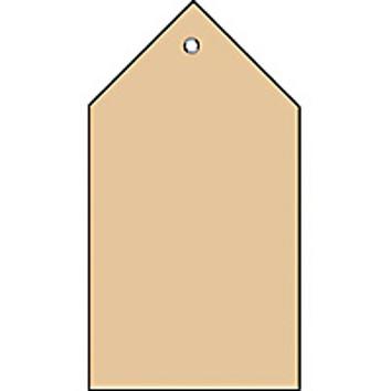 HERMA Anhängezettel, 35 x 60 mm, Colli-Anhänger, braun
