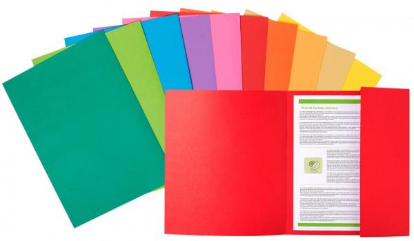 EXACOMPTA Aktendeckel ROCK´S, DIN A4, farbig sortiert
