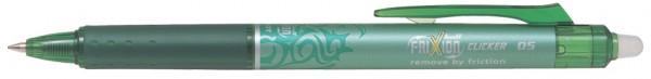 PILOT Tintenroller FRIXION BALL CLICKER 05, grün