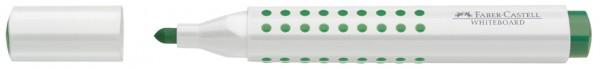 FABER-CASTELL Whiteboard-Marker GRIP, Rundspitze, grün