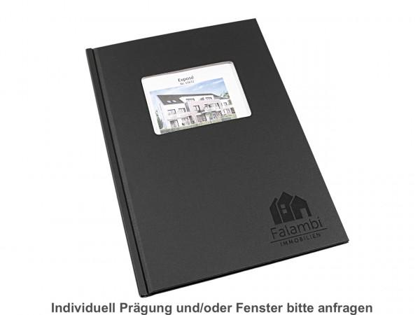 HardCover-Einbanddeckel A4+ (304 mm) Modern matt - schwarz