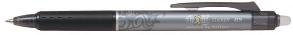 PILOT Tintenroller FRIXION BALL CLICKER 05, schwarz