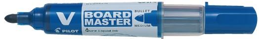 PILOT Whiteboard-Marker V BOARD MASTER, Rundspitze, blau